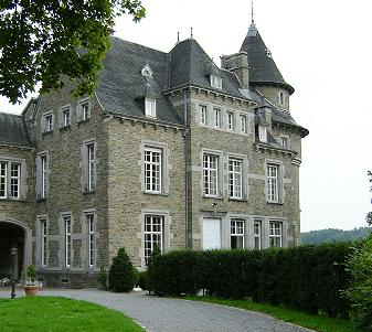 het Grand château in Blier.